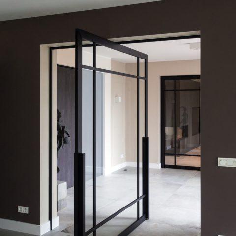 Realisaties met steel look deuren