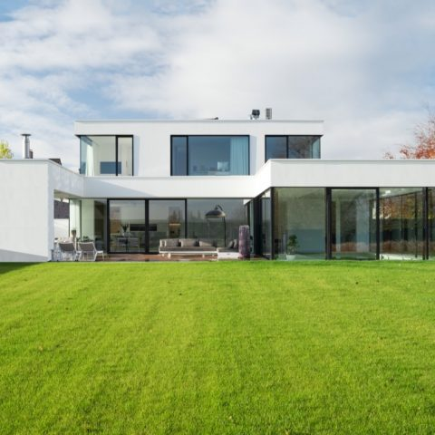 Basalte design domotica in moderne design villa