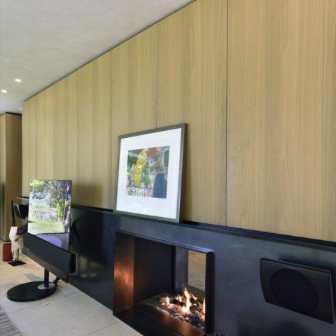 Authentieke kalkschildering in moderne villa