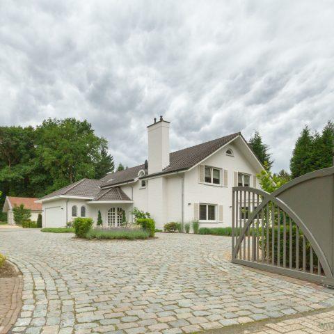 Aanleg tuin eigentijdse villa Maasmechelen