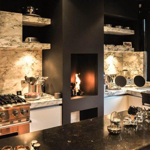 Moderne gashaarden: strakke gashaard in de keuken