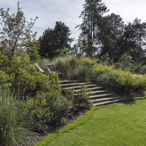 Exclusieve tuin in Knokke