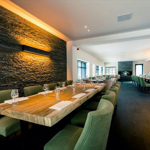 Exclusieve verlichting restaurant