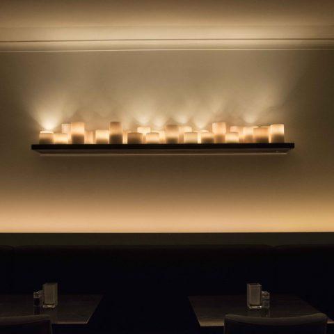Exclusief verlichting restaurant Maison Belge