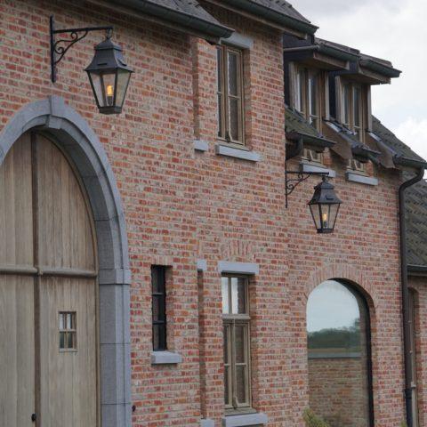 Landelijke villa met exclusieve buitenverlichting