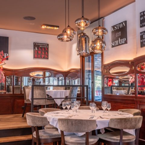 Exclusieve verlichting Brasserie De Vogelenzang