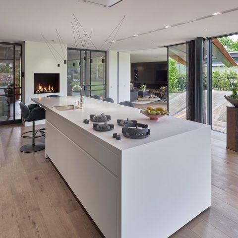 Brede planken in prachtige villa