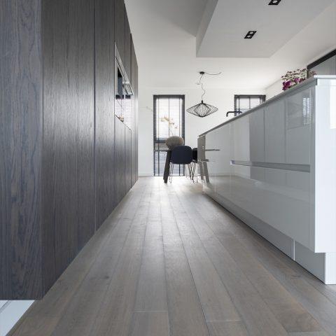 Warme eikenhouten plankenvloer van Bauwerk