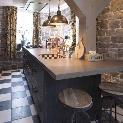 Luxe keukens: keuken van eiken