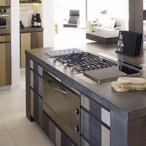 Moderne eiken keukens