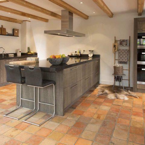 Strakke landelijke keuken: de boerenkeuken