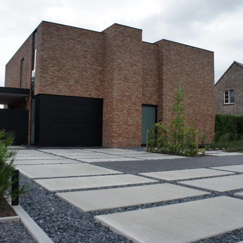 Moderne tuin in As
