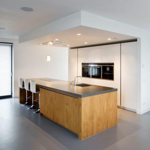 Exclusieve moderne maatwerk keuken