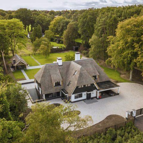 WiFi voor villa met multiroom-audio in Laren