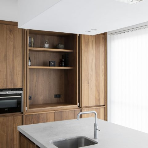 Greeploze houten keuken