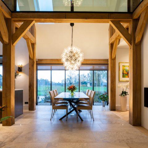 Verlichting interieur en exterieur voor villa