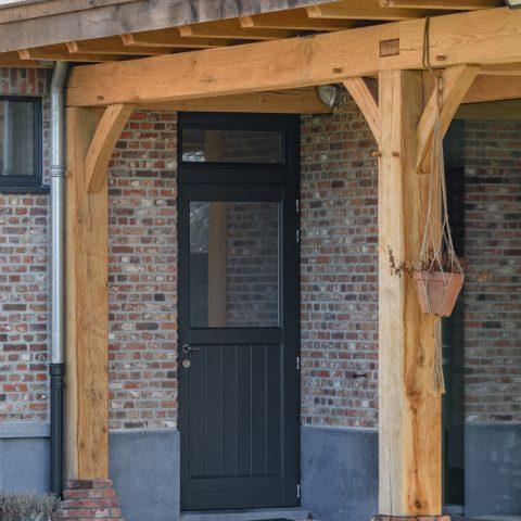 Schrijnwerk ramen en dak project Reusel