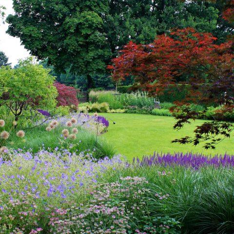 Engelse landschap tuin
