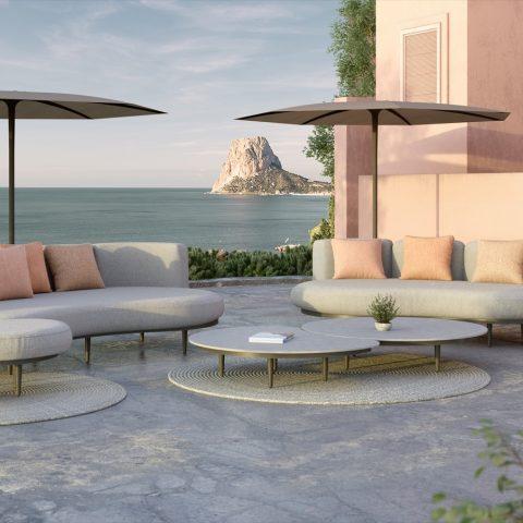 Tuinset Organic Lounge