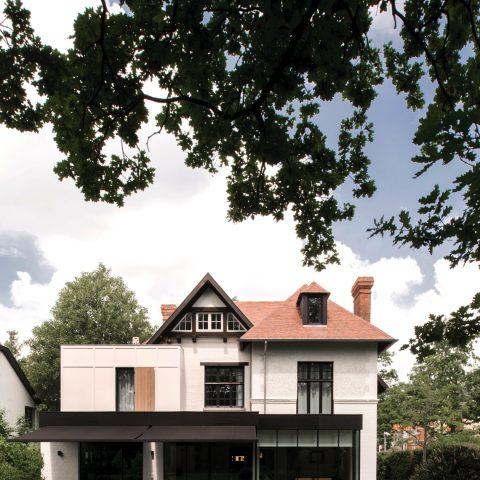 Totaalrenovatie van een prachtig historisch pand in het Middelheim park te Wilrijk