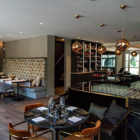 Exclusief interieur restaurant Serafina Olen