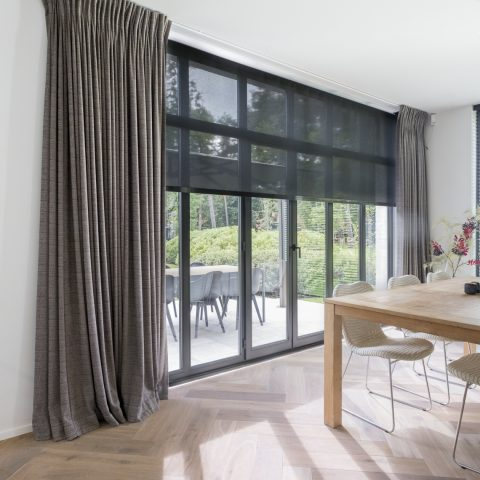 Exclusieve raambekleding en decoratie project D in de Kempen