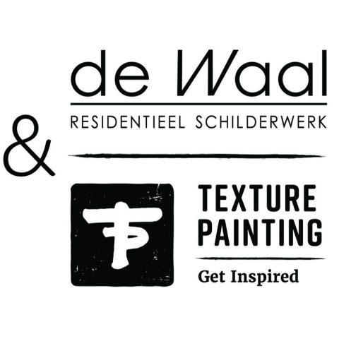de Waal Schilderwerken en Texture Painting slaan de handen in elkaar