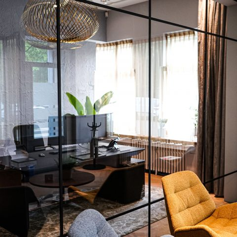 Glazen kantoorwanden in Amsterdam