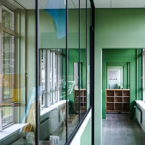 Glazen kantoorwanden in Elspeet