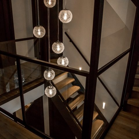 Woonhuis met design deuren
