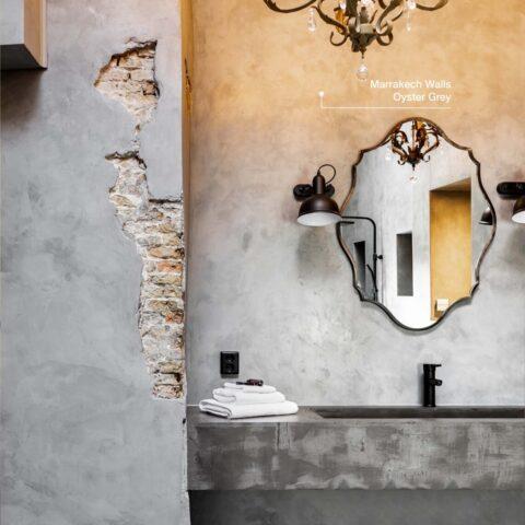 Luxe kleurinspiratie badkamer