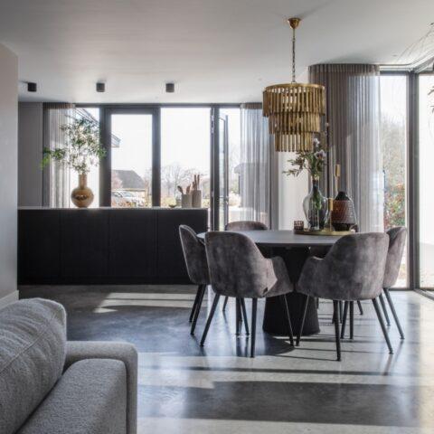 Moderne villa met woonbeton in Barneveld