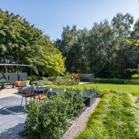 Moderne tuin te Tongeren